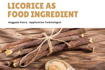 Licorice as Food Ingredients