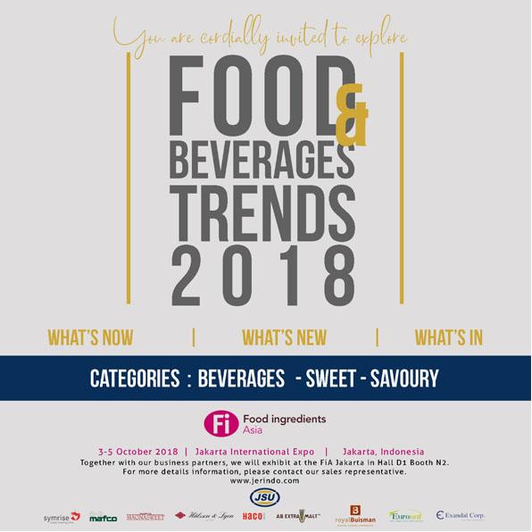Food Beverages Trends 2018
